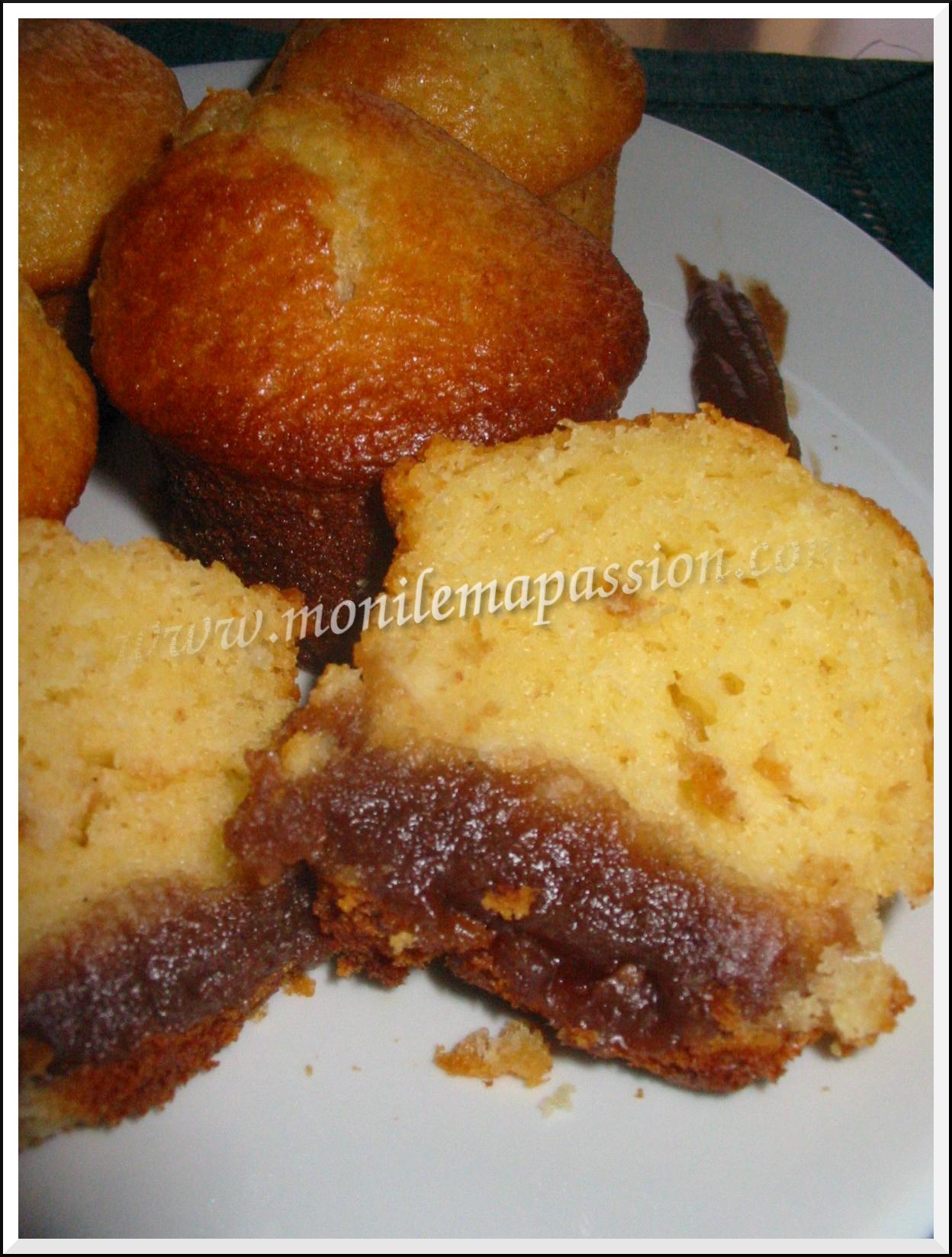 Bouchées moelleuses au yaourt & crème de marrons
