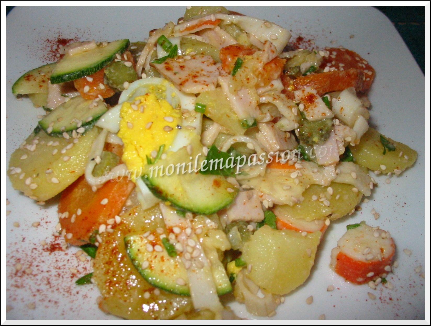 Salade de pommes de terre de lendemain de Saint-Valentin