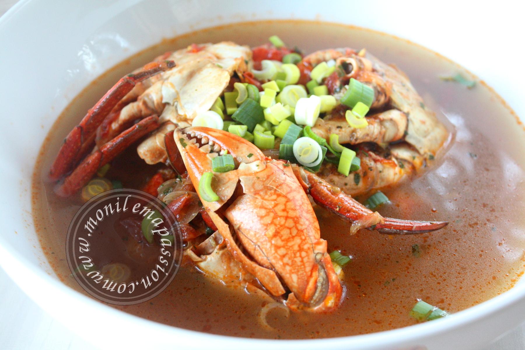Sauce crabe au combava