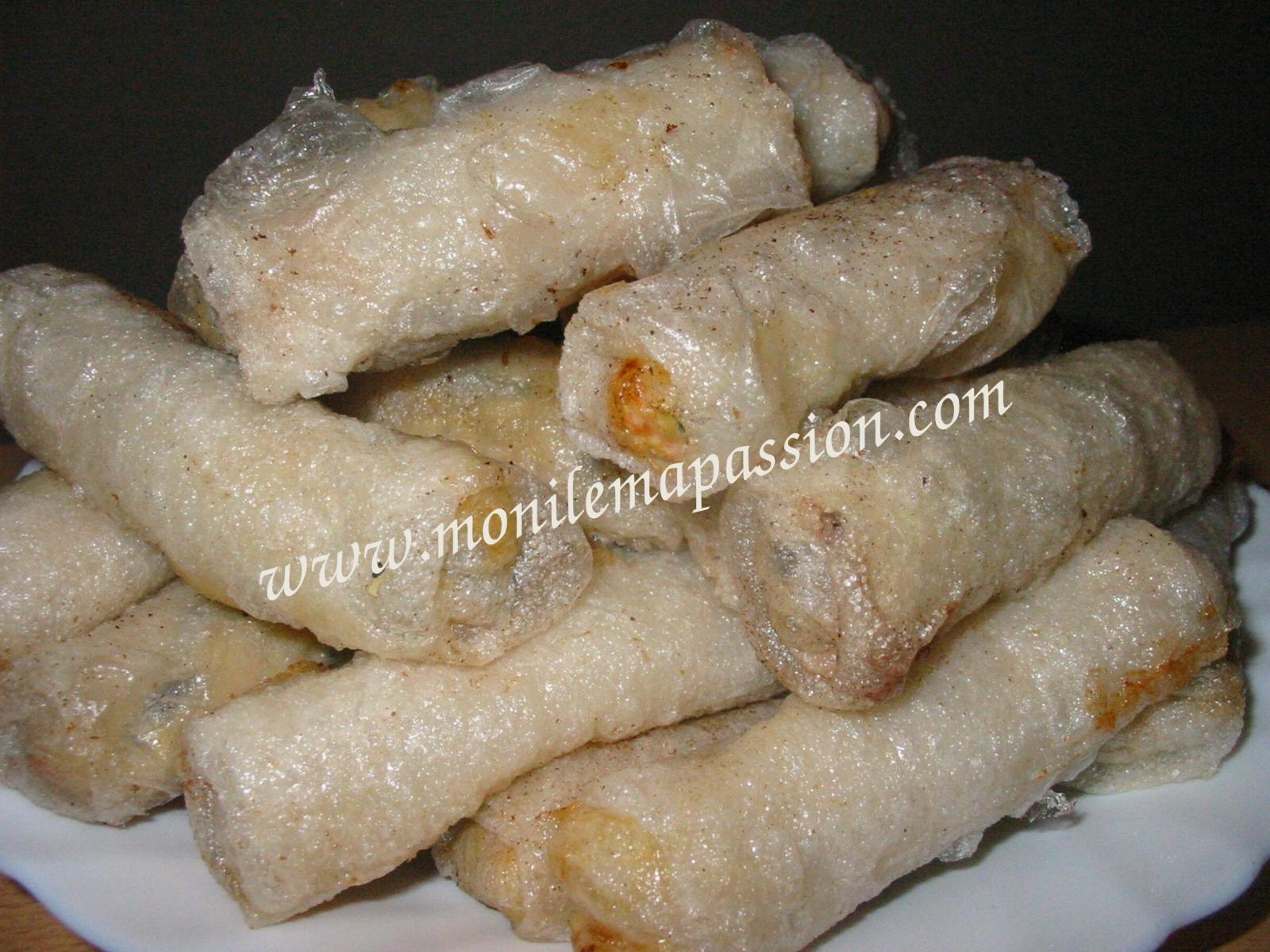 Nems au Poulet – Vietnamese Fried Chicken Spring Rolls