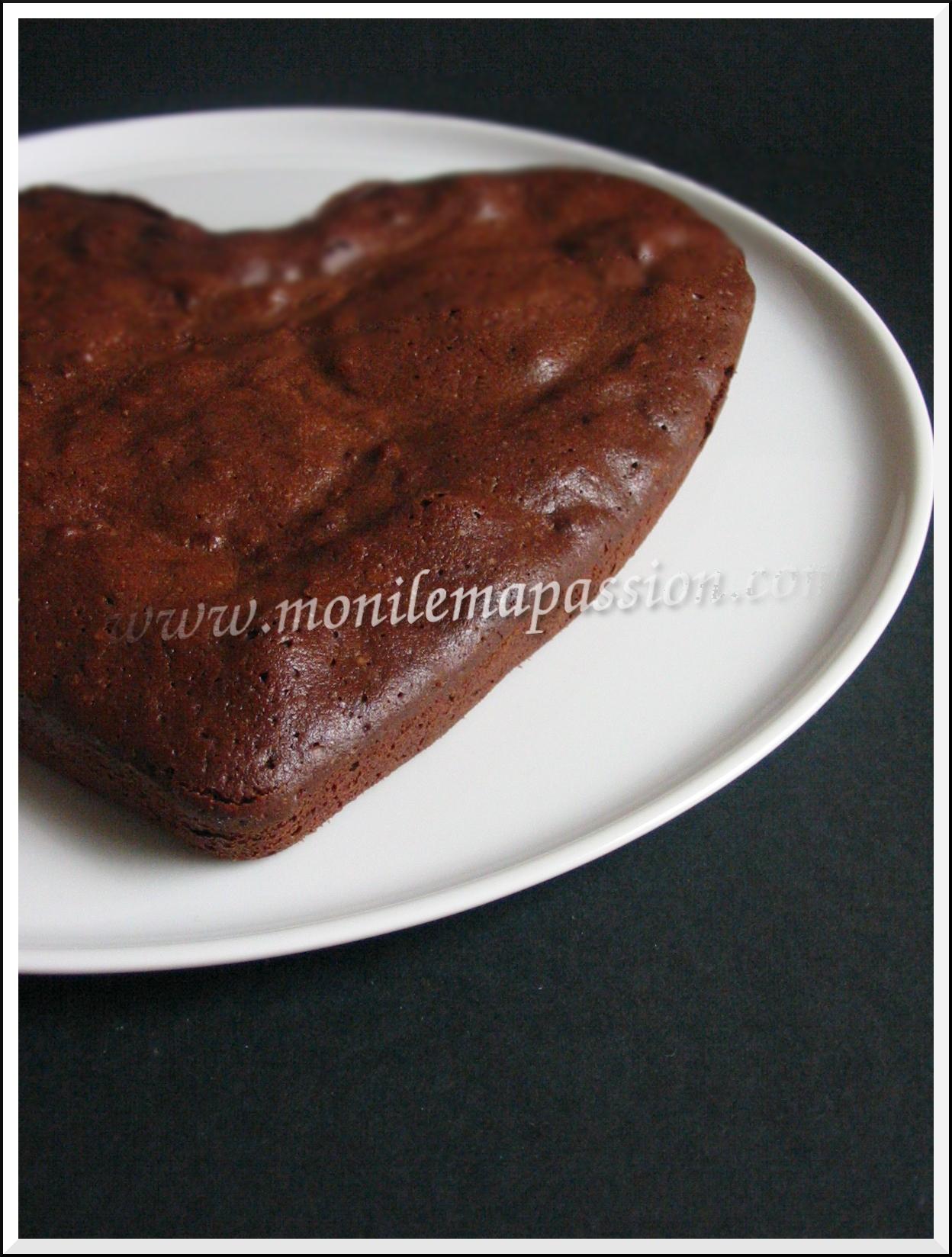 Brownie chocolat aux pignons de pin