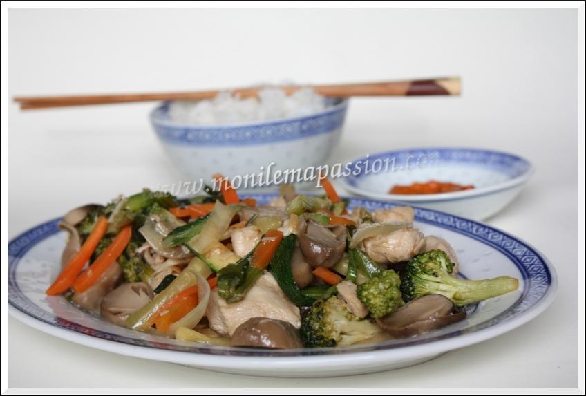 Chop Suey au poulet – Chicken Chop Suey