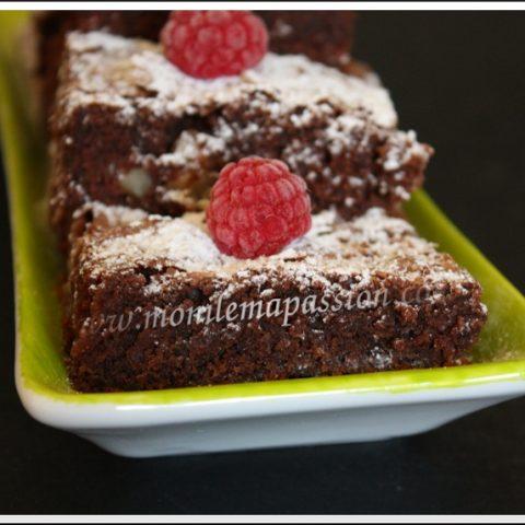 Brownie aux noix de Pierre Hermé