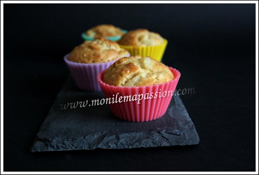 Muffins poire et muesli