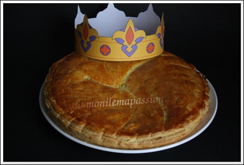Galette des rois à l'ananas Victoria flambé au rhum – Flambéed 'Victoria Pineapple' Epiphany Cake