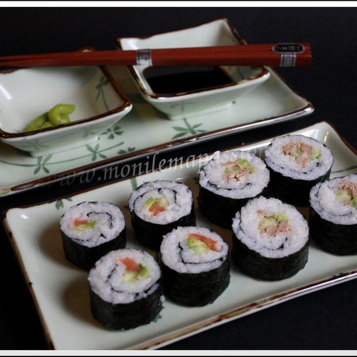 Futomakis-zushi ou gros sushi