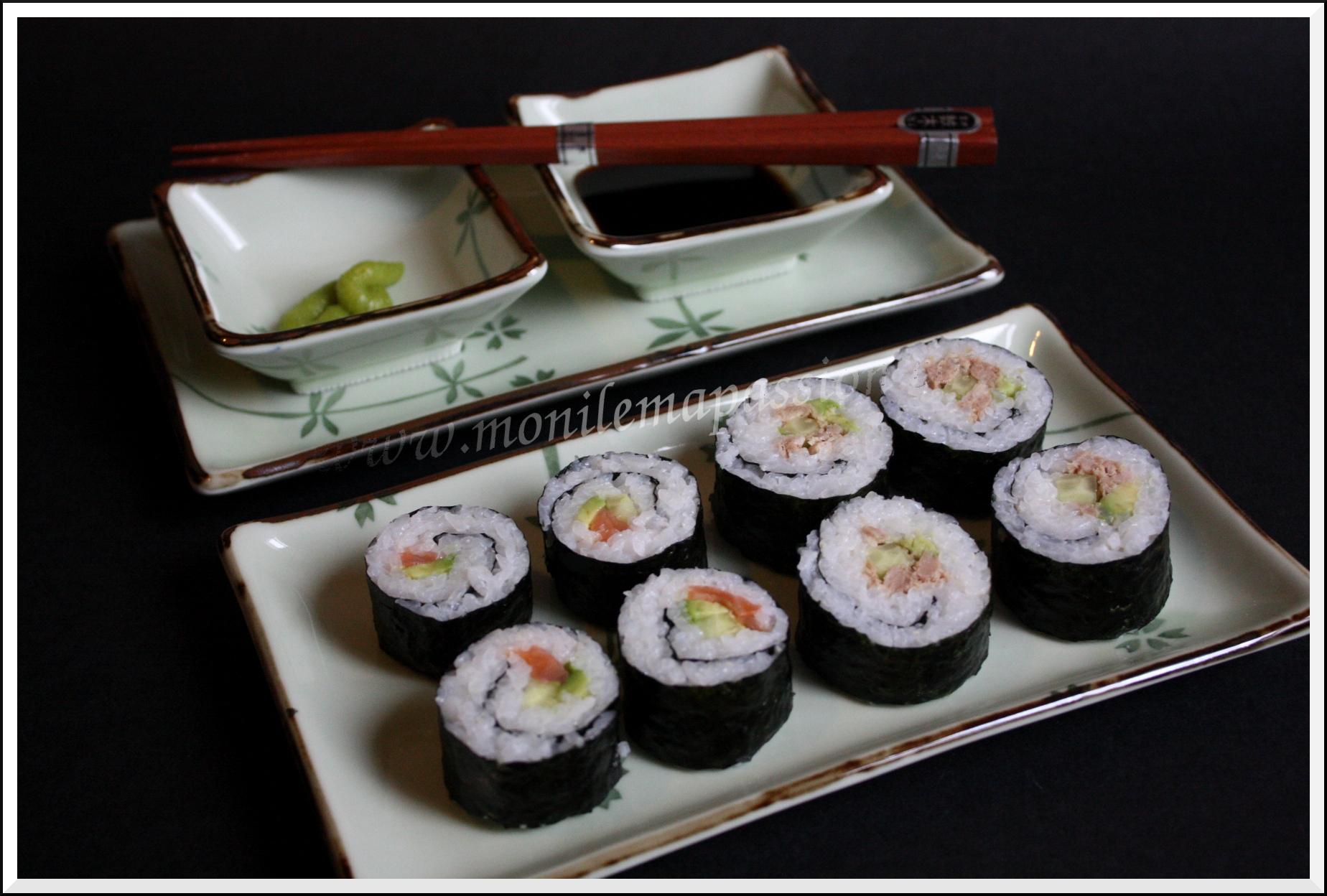 Futo-makis-zushi ou gros sushi