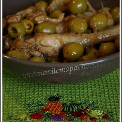 Cari de poulet aux olives à la créole