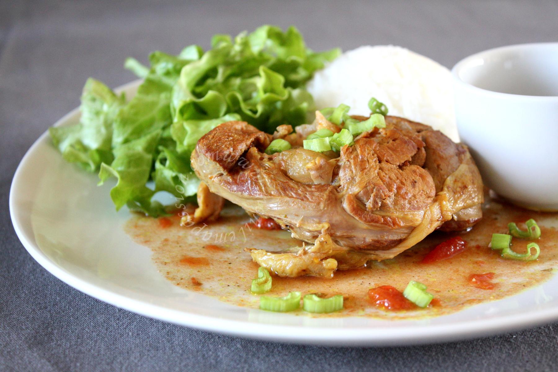 Osso bucco de dinde au Ras-el-hanout – Crock-Pot Moroccan Spiced Turkey Osso Buco