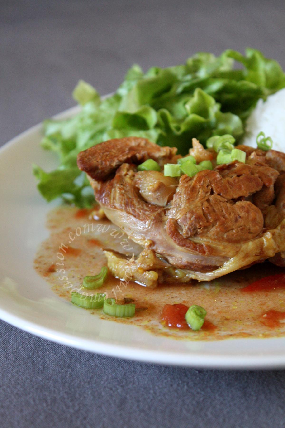 Osso bucco de dinde au Ras-el-hanout - Crock-Pot Moroccan Spiced Turkey Osso Buco