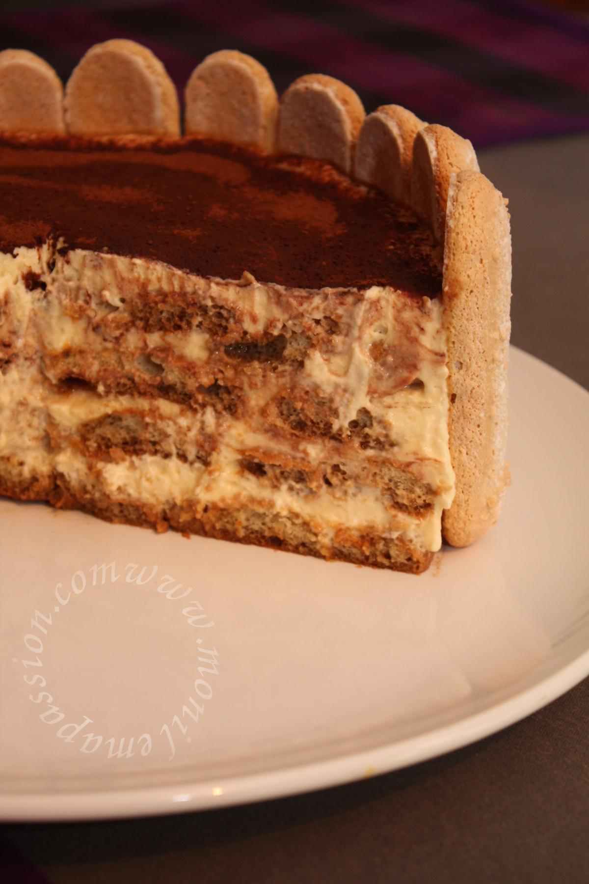 Gâteau Tiramisu - Tiramisu Cake