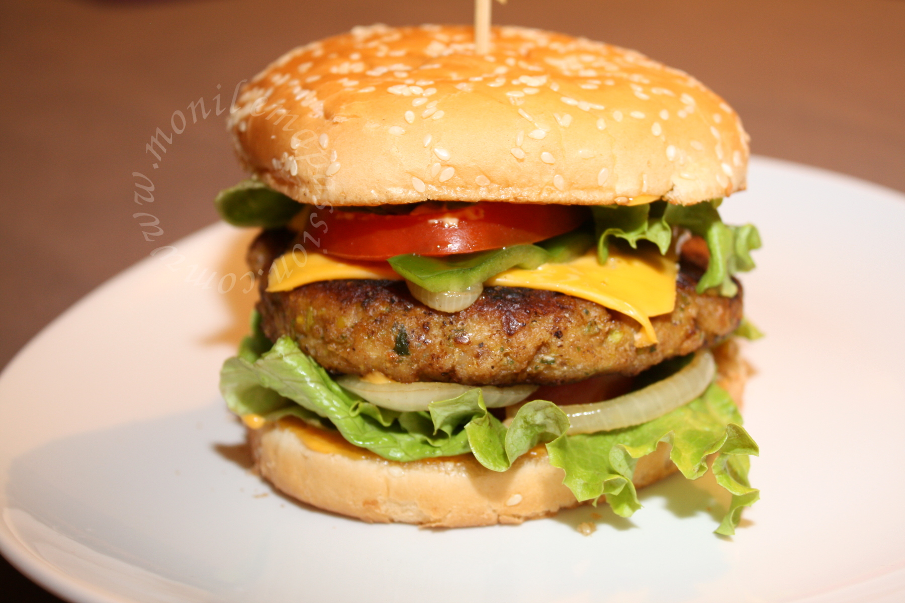 Steaks hachés de poulet maison – Homemade chicken burger patties