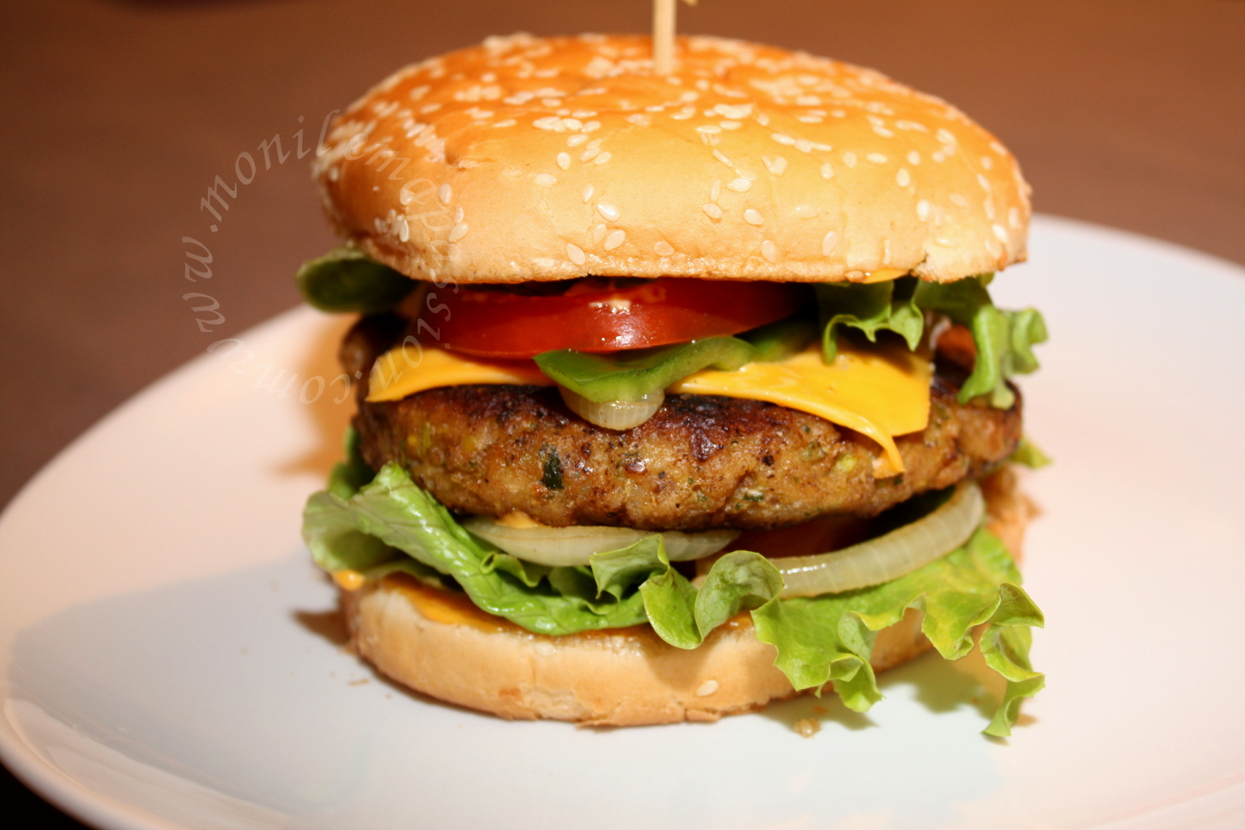 Steaks hachés de poulet maison- Homemade chicken burger patties