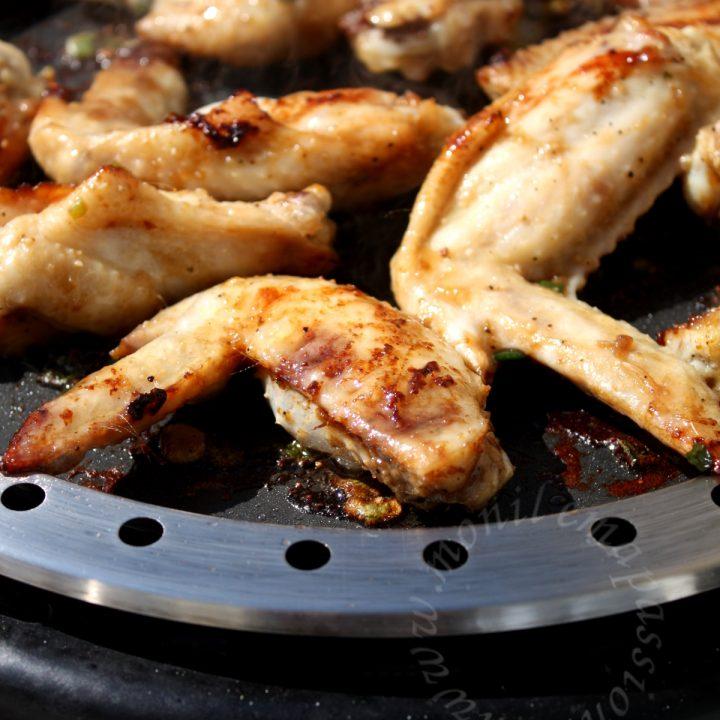 Poulet grillé au barbecue Cobb