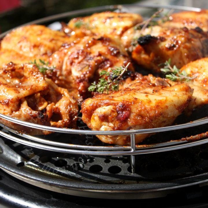 Poulet grillé au pimentón