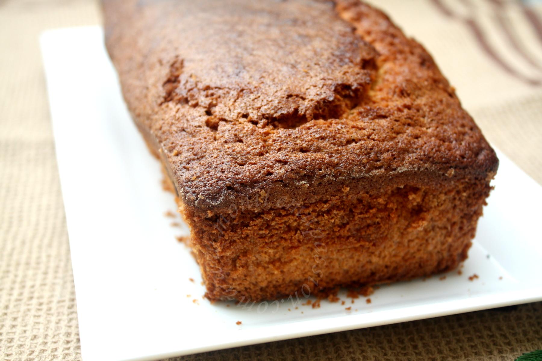 Quatre-quart vanille et fruits de la passion - Vanilla & Maracuja Pound Cake