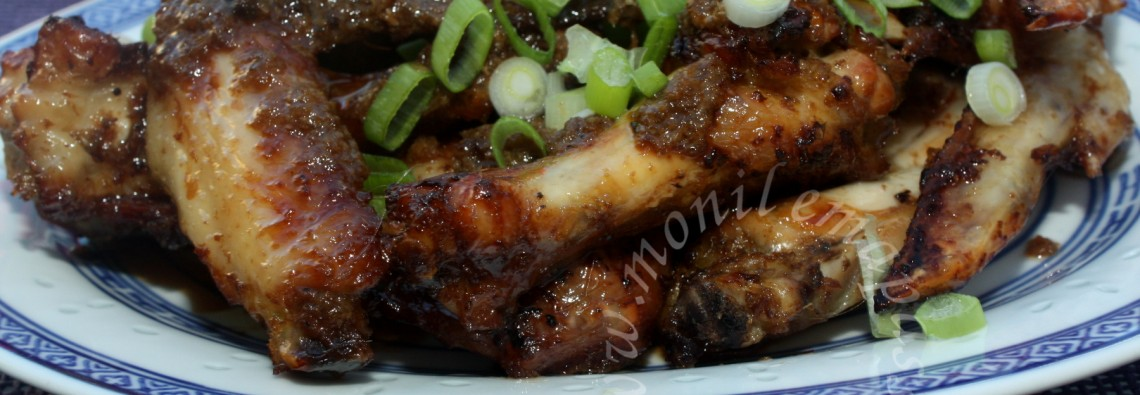 Ailes de poulet façon malaisienne - Malaysian style chicken wings