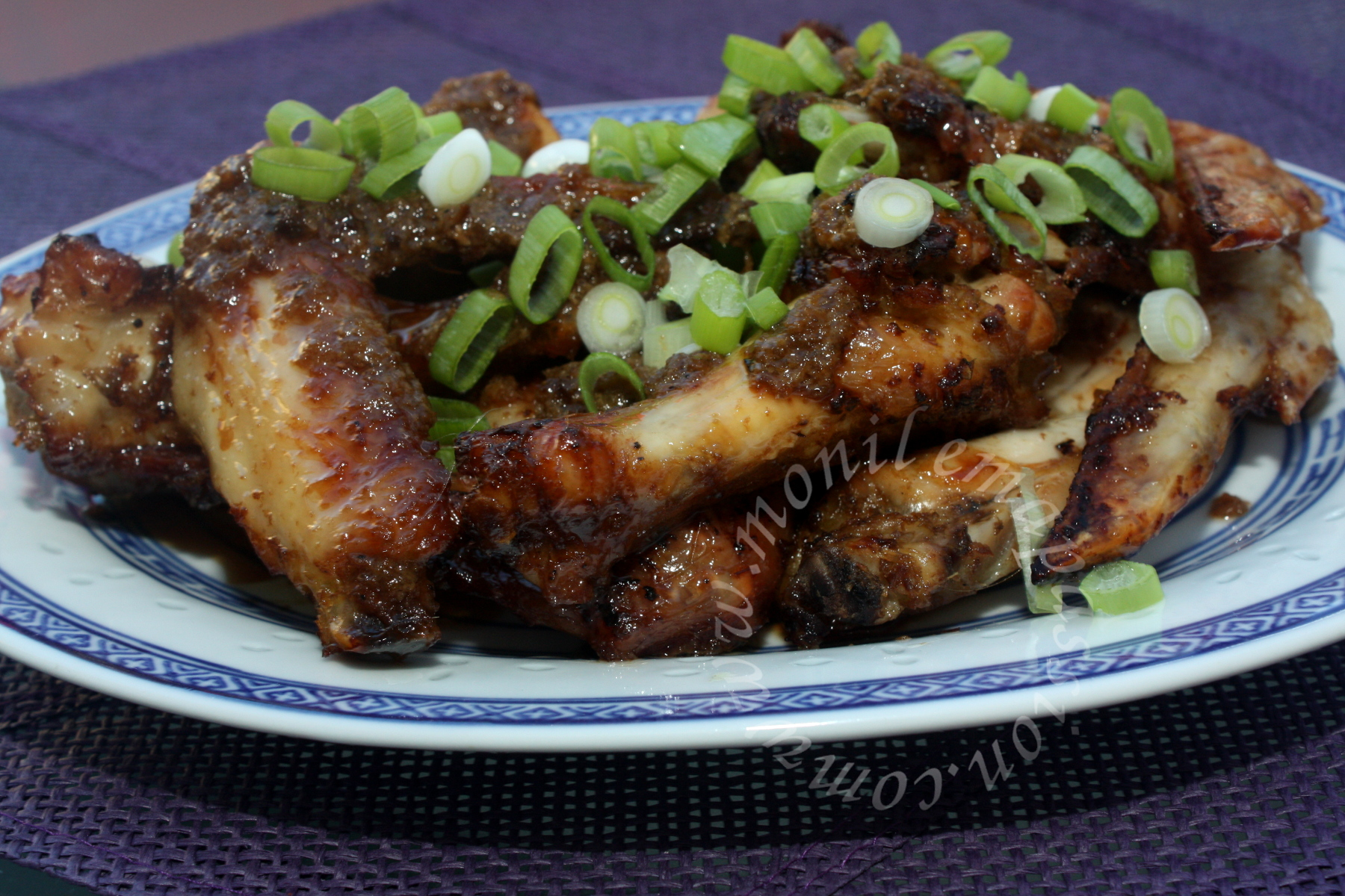 Ailes de poulet façon malaise – Malaysian style chicken wings