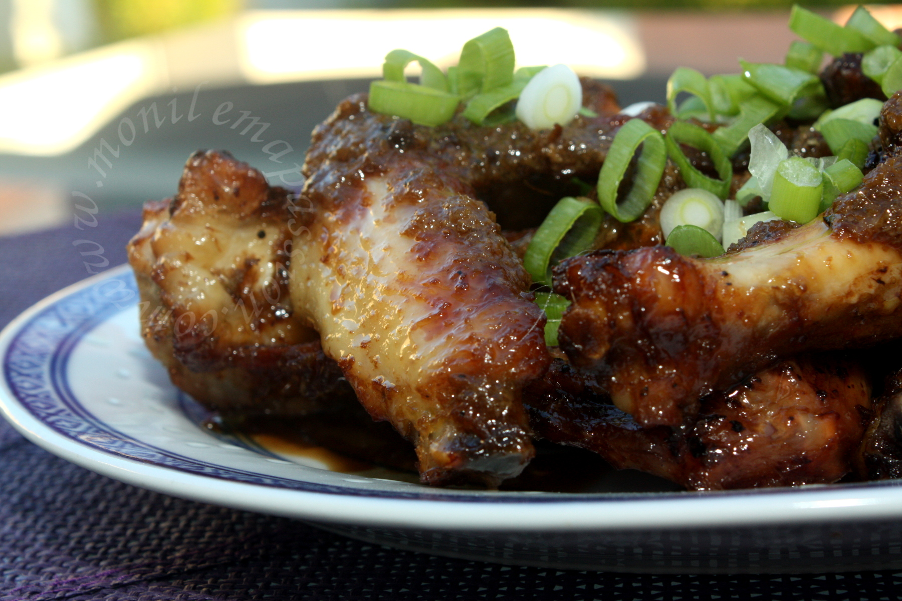 Ailes de poulet façon malaise - Malaysian style chicken wings