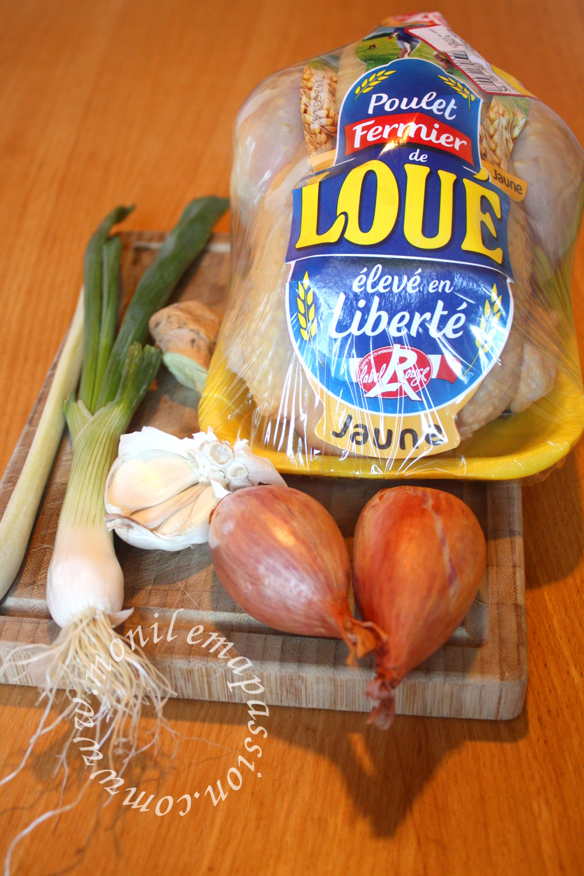 Poulet rôti à la citronnelle et au gingembre - Lemongrass & ginger roasted chicken