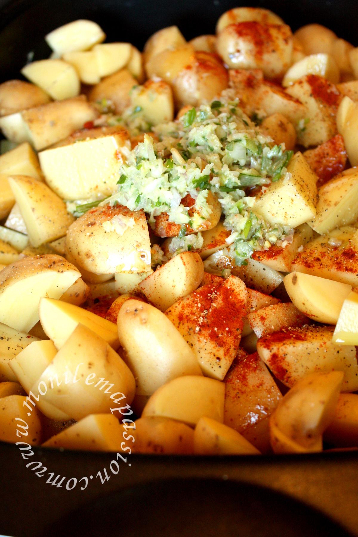 Poulet rôti à la citronnelle et au gingembre - Lemongrass & ginger roasted chicken