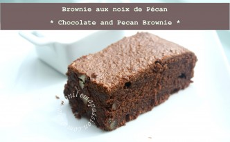 Brownie aux noix de pécan - Chocolate & Pecans Brownie