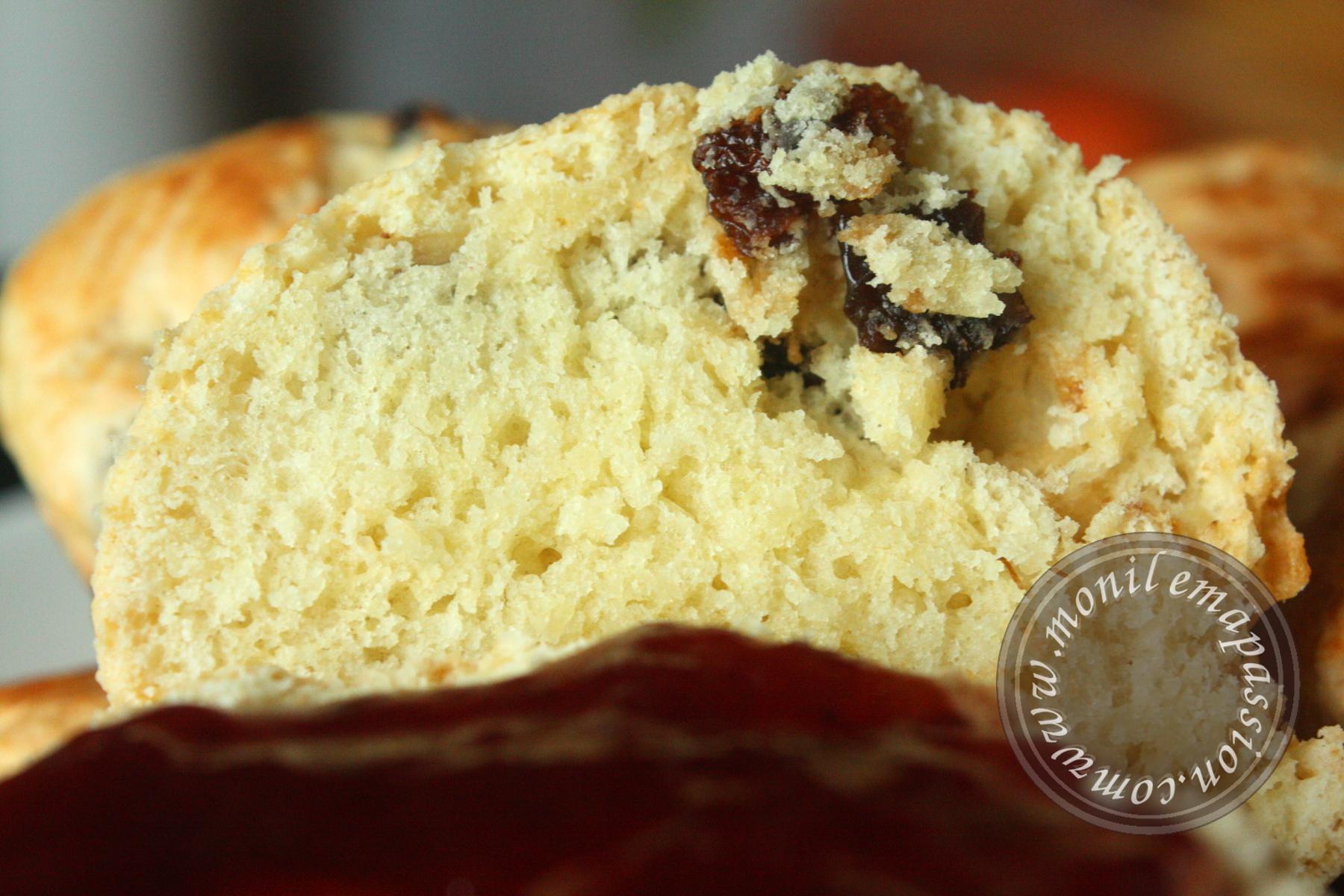 Scones aux raisins secs - Raisin Scones