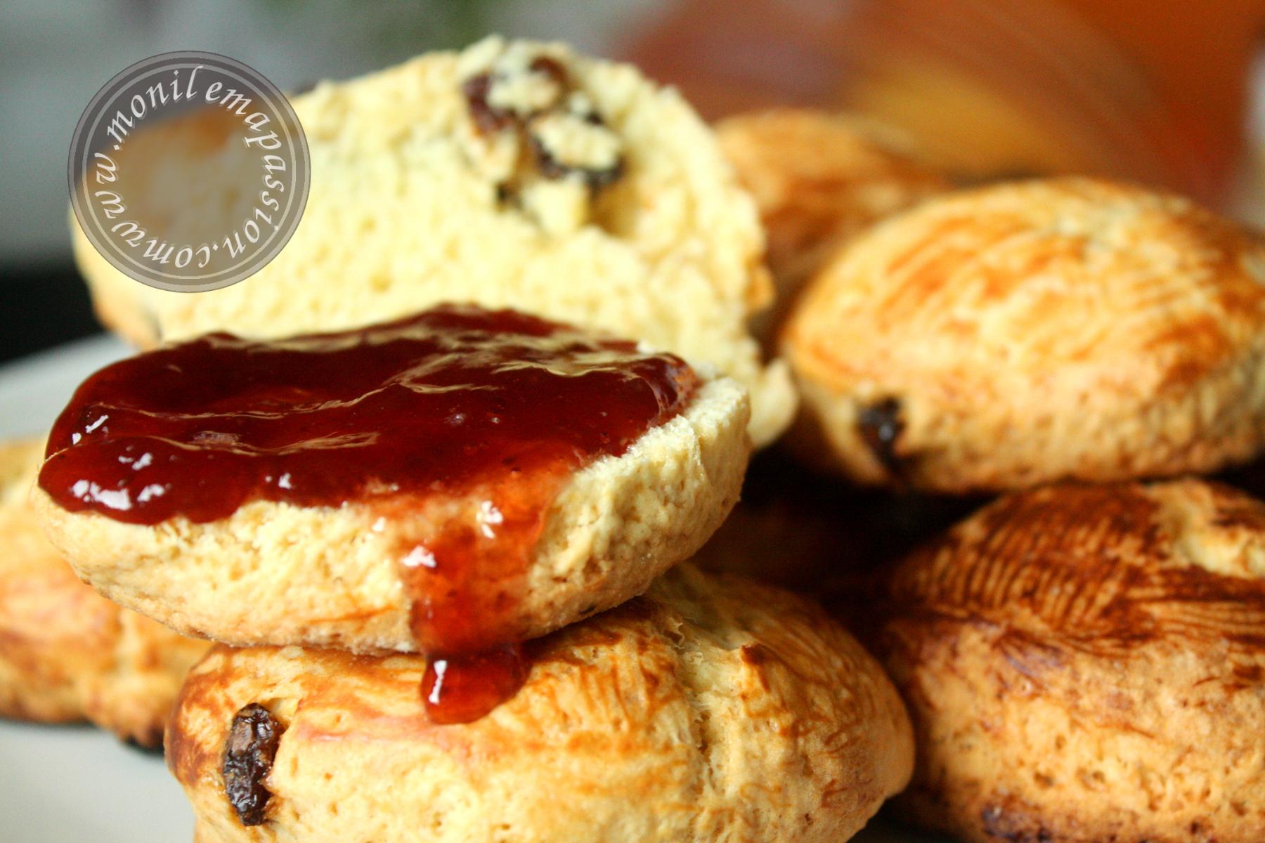 Scones aux raisins secs – Raisin Scones