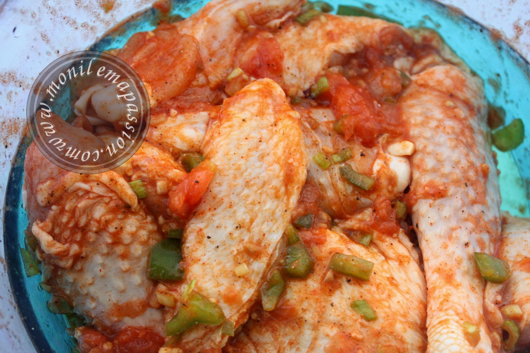 Grignotes de poulet façon mexicaine - Mexican style chicken
