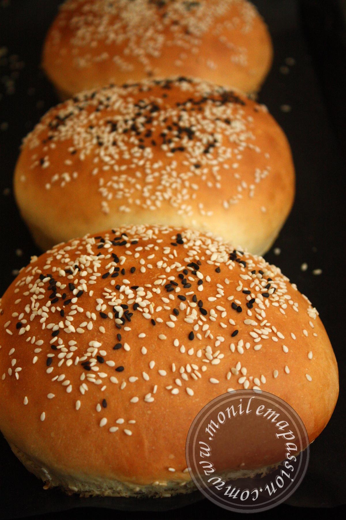 Pains à burger maison – Homemade burger buns