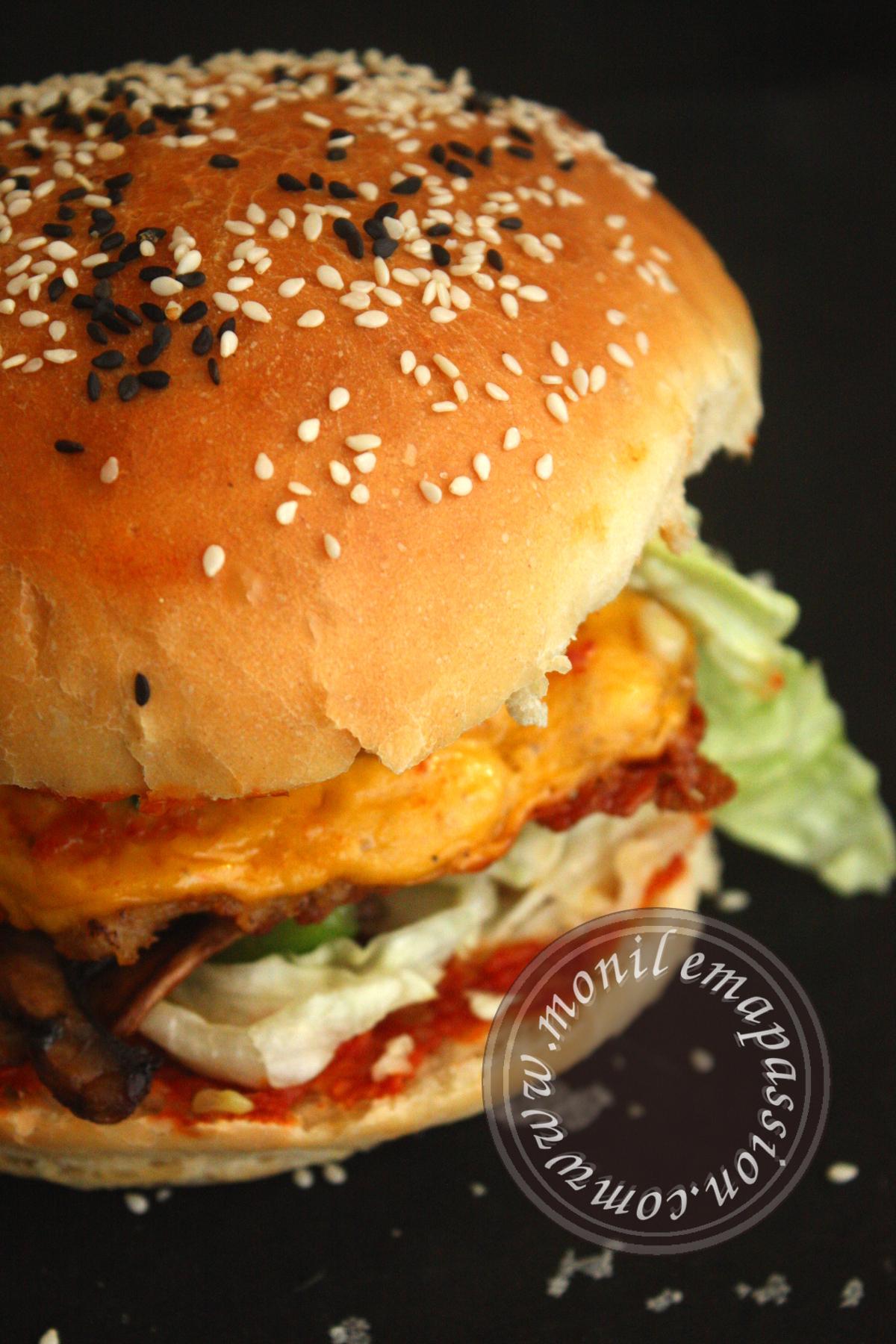 Pains à burger maison - Homemade burger buns