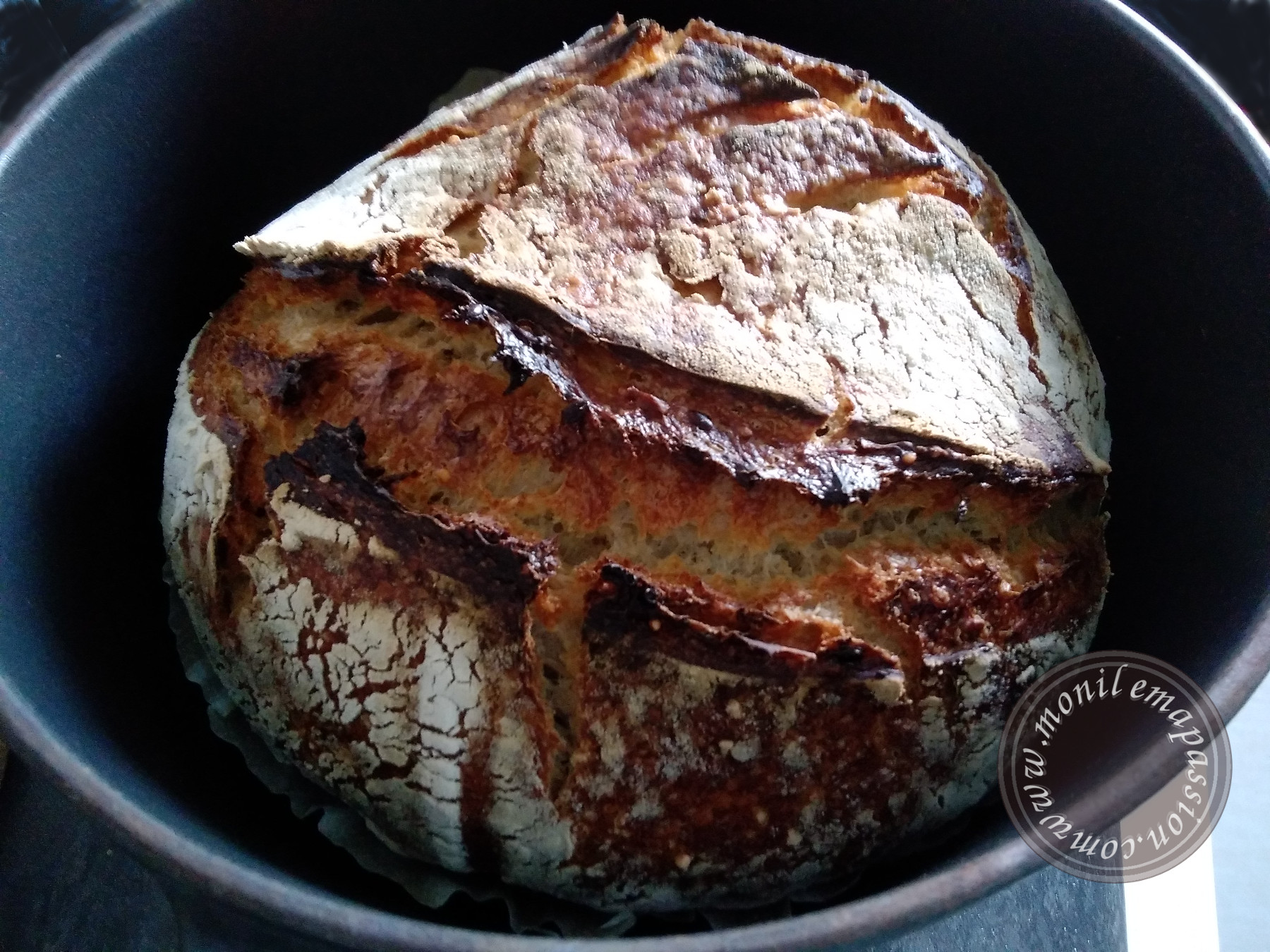 Pain De Campagne Au Levain #1 – Leaven/Sourdough Bread #1