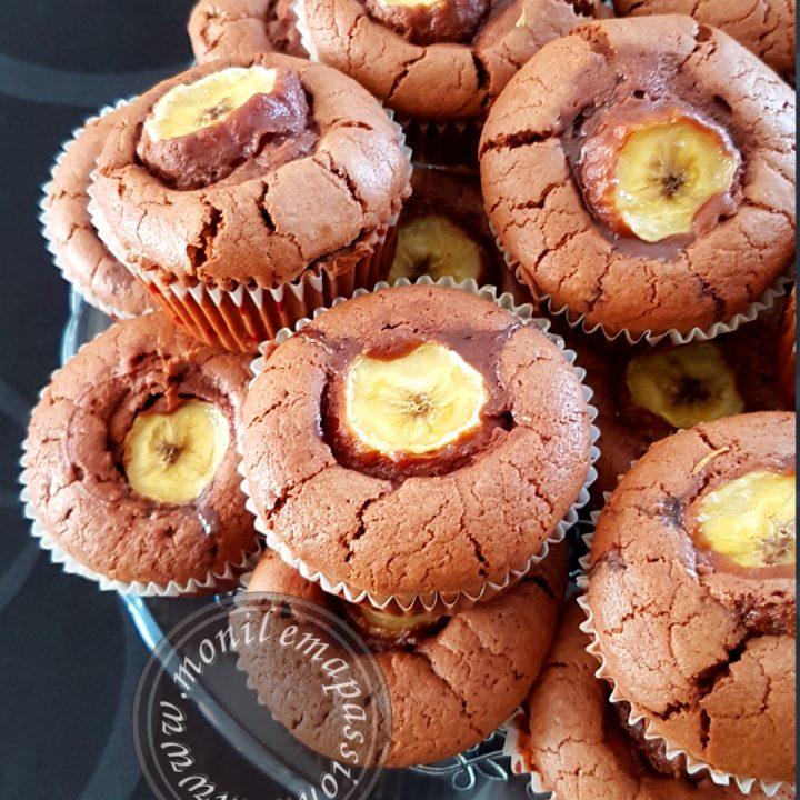 Muffins Chocolat/Banane