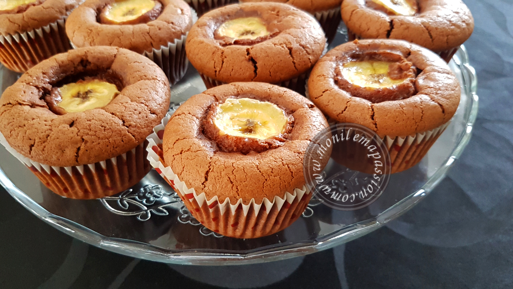 Muffins Chocolat/Banane – Chocolate And Banana Muffins